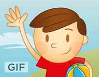 GIG Insurance - Character Designs [GIF]