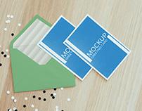 Greeting Cards Mock ups