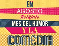 Mes del humor y la comedia Señal Colombia