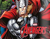Linha de Abajures Avengers 2015