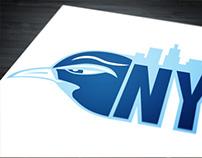 NY Bluebirds Logo