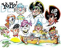 A study in pirates