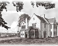 Murrayshall House Illustration