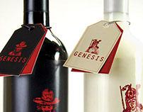 Genesis Peruvian Wine Bottles