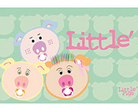 Little Pigs Kid's Store Identity