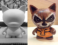Rocket Raccoon (Custom Toy Design)