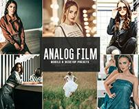 Free Analog Film Mobile & Desktop Lightroom Presets