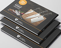 B5 Brochure Design
