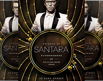 Santara Flyer Template