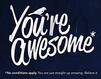 You're Awesome* - Happy as Larry