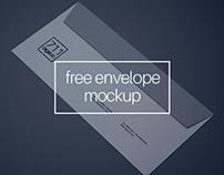 Envelope Mockup (Free)