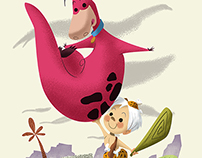BamBam and Dino