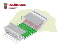 Estádio AXA Infografia / Infographic