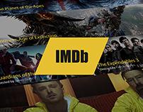 IMDb - re-design concept