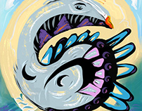Adobe Fresco paintings