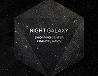 Night Galaxy Flyer Poster