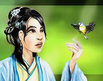 Chinese Lady 2