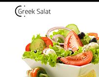 Greek Salat Layout
