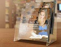 Back To School Square Brochure