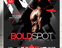 fitness flyer gym flyer v7 on behance