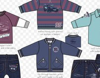 Boyswear Garment Design