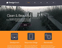Free Website Design Template