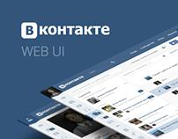 Vk.com redesign concept