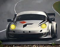 Porsche Art - Spray