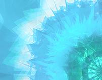 Eternally frozen virus - colour experiment