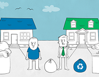 Waste Zero Pay-As-You-Throw Video Illustrations
