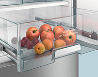 BSH Siemens CGI Fridge