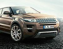 Range Rover Evoque CGI