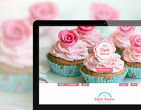 The Clyde Barow cupcake website template