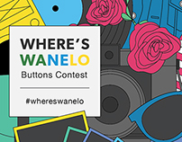 Where's Wanelo Buttons Contest