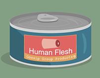 Human Flesh Can