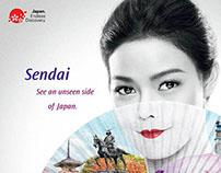 """Thai airway """"Touch""""Print campaign"""