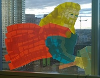 Thor Post It Window