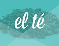 el té | Logo, CI