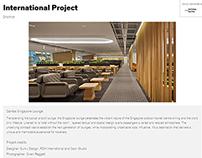 IDEA AWARDS 2013 SHORT LIST INTERNATIONAL PROJECT