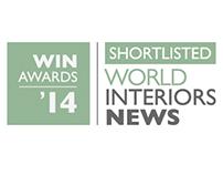 WORLD INTERIORS NEWS 2014 AWARDS SHORTLIST