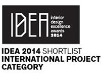 IDEA AWARDS 2014 SHORT LIST INTERNATIONAL PROJECT