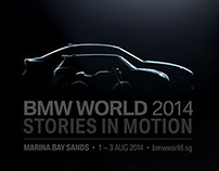 BMW World 2014 - Stories in Motion