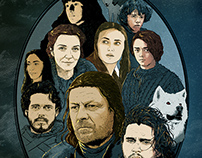 Winter is Coming | The Starks