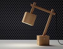Qubi desk lamp