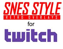 Customizable Retro SNES Overlay