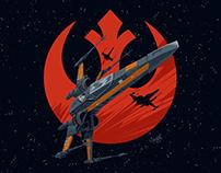 Starwars X-Wing Poe Dameron