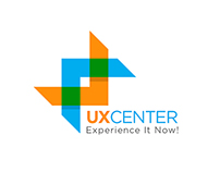 UX CENTER. Experience It Now! concept