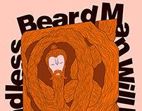 The Endless Beard Man