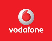 Vodafone internal branding