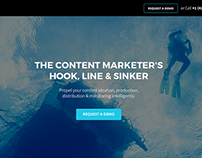 Content Marketing Platform One Page
